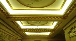 Подсветка периметра потолка